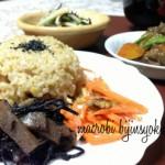 鍋でふんわり甘い玄米ご飯の炊き方