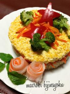 マクロビXmas玄米ケーキ