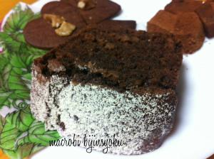 マクロビチョコケーキ