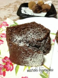 マクロビオティックチョコレートケーキ