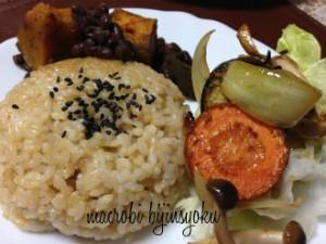マクロビ焼き野菜
