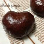 マクロビオティックバレンタインスイーツ♪体にやさしいハート和菓子