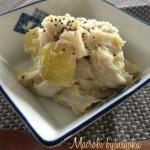 蒸し里芋とじゃがいもの簡単マクロビオティックレシピ☆お芋マッシュ