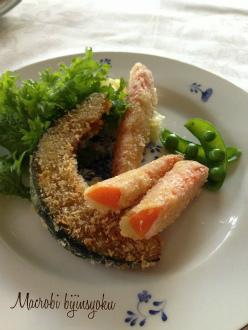 マクロビオティックパン粉焼き