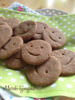 マクロビのスイーツ全粒粉クッキー1
