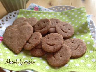 マクロビのスイーツ全粒粉クッキー2