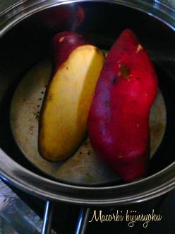 マクロビ蒸しさつま芋