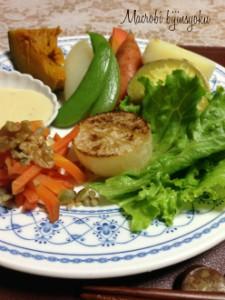 マクロビ4月野菜をおいしく1
