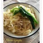マクロビレシピ☆春キャベツと新玉ねぎで低カロリーの簡単パスタ