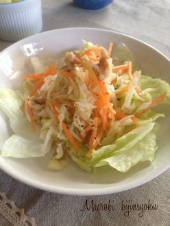 マクロビキャベツのサラダ