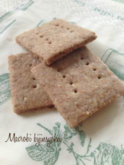 マクロビ5月ダイエット胡麻クッキー