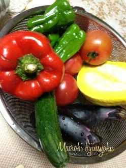 マクロビ夏野菜