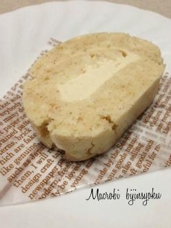 マクロビ7月豆腐クリームロールケーキ