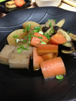マクロビの含め煮