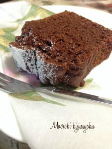 27年マクロビチョコレートケーキ