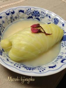 27年マクロビ豆腐のロールキャベツ