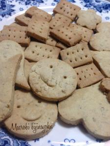 27.6マクロビ胡麻クッキー