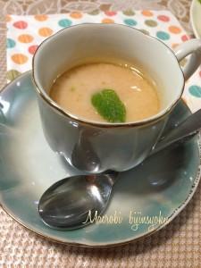27マクロビトマトスープ
