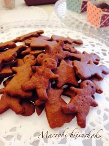 マクロビジンジャーマンクッキー