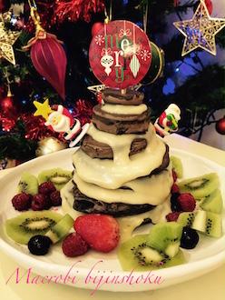 27年マクロビ米粉のパンケーキ