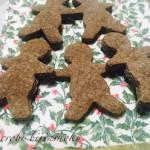マクロビスイーツレシピ♪米粉のクリスマスジンジャーマンクッキー