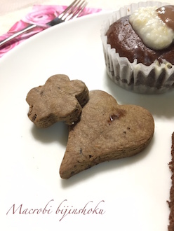 28.1月マクロビチョコクッキー