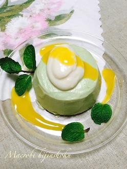 マクロビオティックのアボカドアイスケーキ