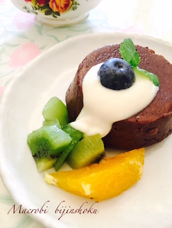 28.7マクロビレアチョコケーキ