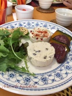 マクロビ豆腐チーズディップ28年