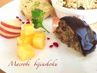 マクロビさつま芋のドームケーキ28年