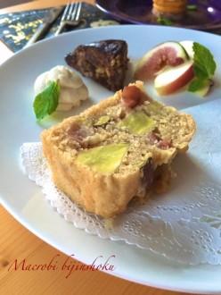 マクロビさつま芋とりんごのパウンドケーキ28年