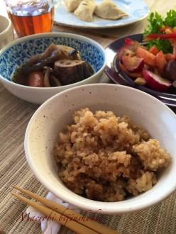 マクロビ胡麻玄米ご飯28年