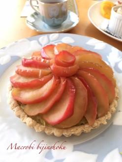 マクロビさつま芋と林檎のタルト28年11月