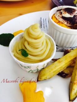 マクロビさつま芋のモンブラン28年11月
