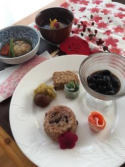 マクロビおせち料理28.12~2