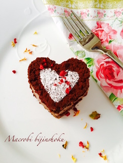 マクロビ米粉チョコケーキ
