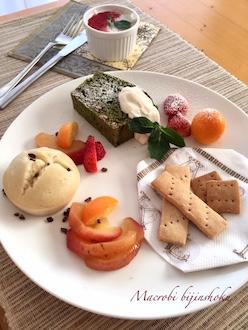 マクロビ基本のお菓子プレート29.1