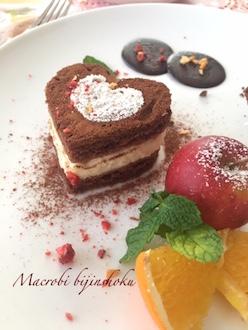 マクロビ・ハートの米粉チョコケーキ29.1