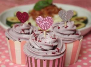 マクロビ米粉カップケーキ薔薇絞り29.1