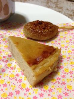 マクロビやきチーズケーキ