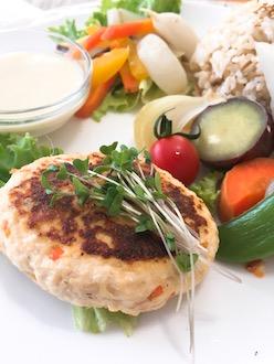 マクロビ豆腐ハンバーグ29.4