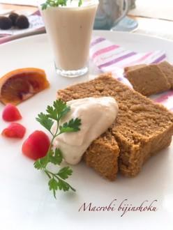マクロビ米粉とおからのパウンドケーキ29.4