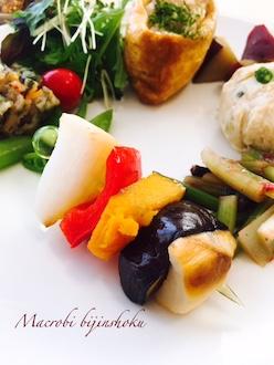 マクロビお野菜のピンチョス29.4