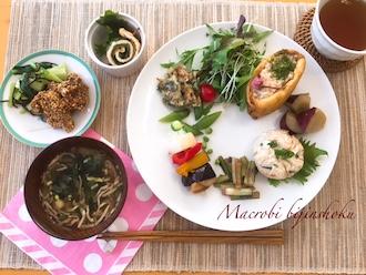 マクロビのお弁当料理29.4