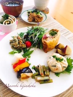マクロビお弁当料理プレート29.4
