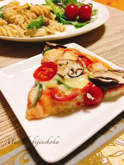 マクロビ米粉の天然酵母ピザ29.5