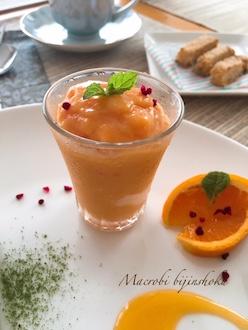 マクロビトマトのフローズンヨーグルト風