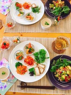 マクロビ29.7生野菜料理