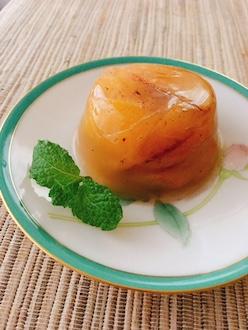 マクロビ柿の寒天ゼリー29.10