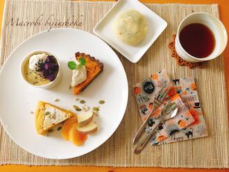 マクロビお芋とかぼちゃスイーツ29.10